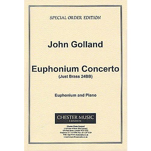 Chester Music Euphonium Concerto (Euphonium with Piano Reduction) Music Sales America Series-thumbnail