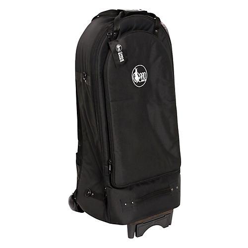Gard Euphonium Wheelie Bag 52-WBFLK Black Ultra Leather