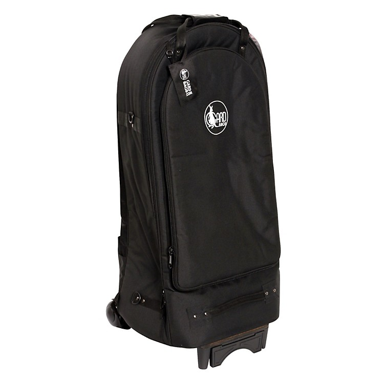 GardEuphonium Wheelie Bag52-WBFLK BlackUltra Leather