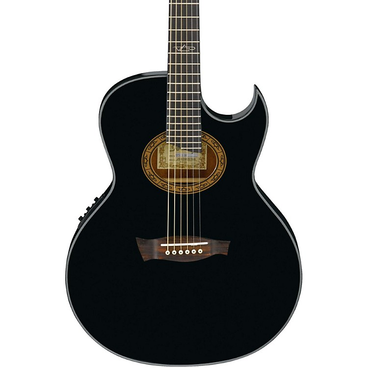 Ibanez Euphoria Steve Vai Signature Acoustic-Electric Guitar Black Pearl High Gloss
