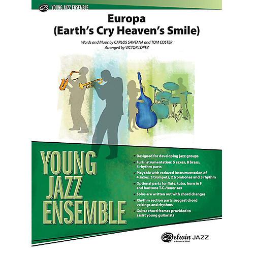 Alfred Europa (Earth's Cry Heaven's Smile) Jazz Band Grade 2 Set-thumbnail