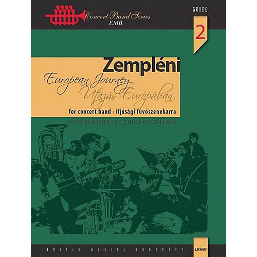 Editio Musica Budapest European Journey (Concert Band Score and Parts) Concert Band Level 2 Composed by László Zempléni-thumbnail