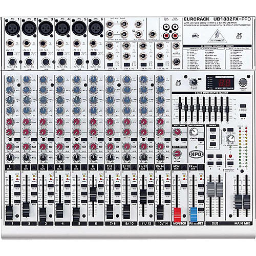 Behringer Eurorack UB1832FX-PRO Mixer