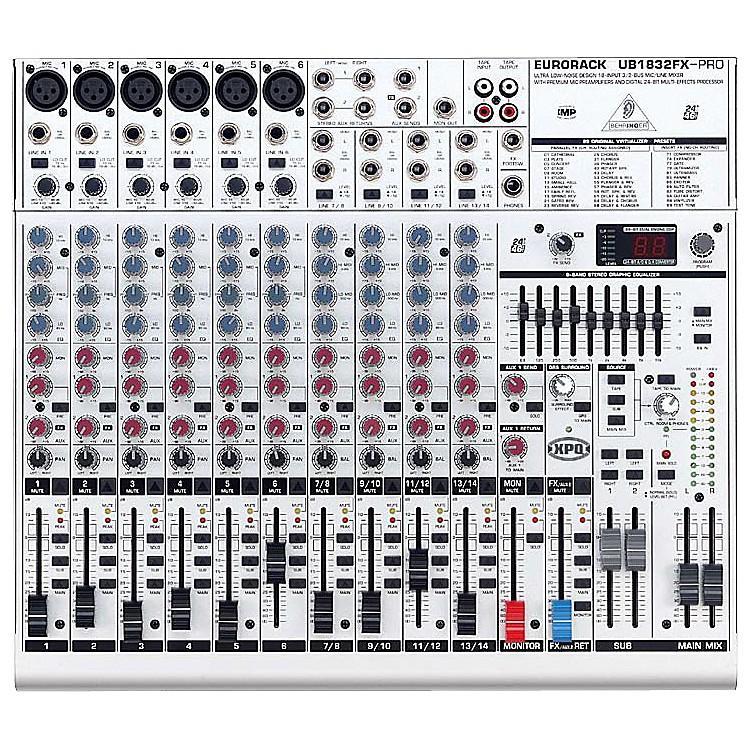 BehringerEurorack UB1832FX-PRO Mixer