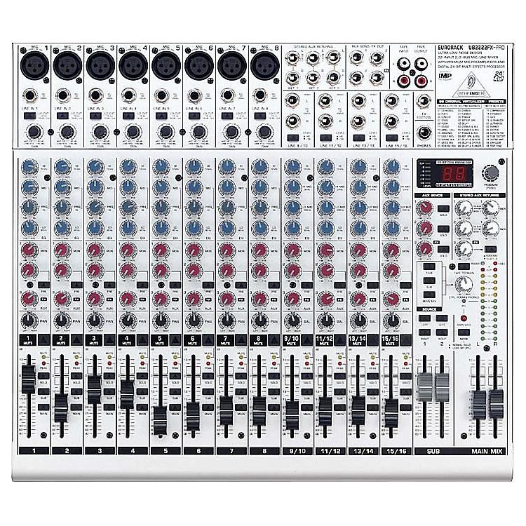 BehringerEurorack UB2222FX-PRO Mixer