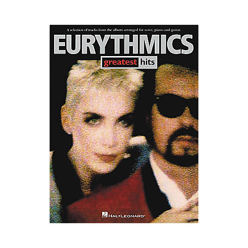Hal Leonard Eurythmics - Greatest Hits Piano, Vocal, Guitar Songbook-thumbnail