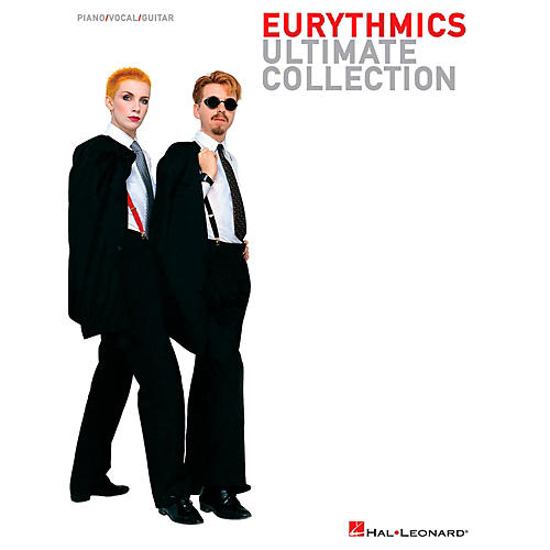 Hal Leonard Eurythmics - Ultimate Collection Songbook for Piano/Vocal/Guitar-thumbnail