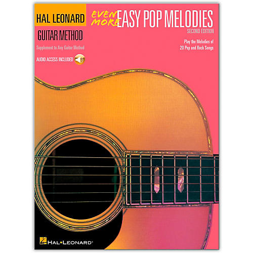Hal Leonard Even More Easy Pop Melodies Guitar Method (Book/Online Audio)-thumbnail
