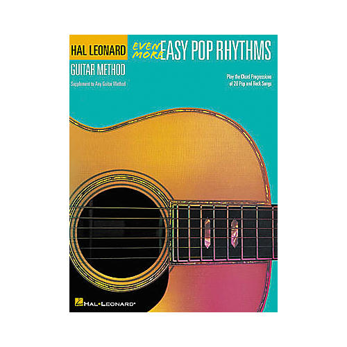 Hal Leonard Even More Easy Pop Rhythms - 2nd Edition Book-thumbnail