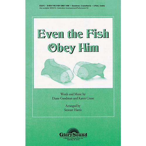Shawnee Press Even the Fish Obey Him 2PT TREBLE arranged by Stewart Harris-thumbnail
