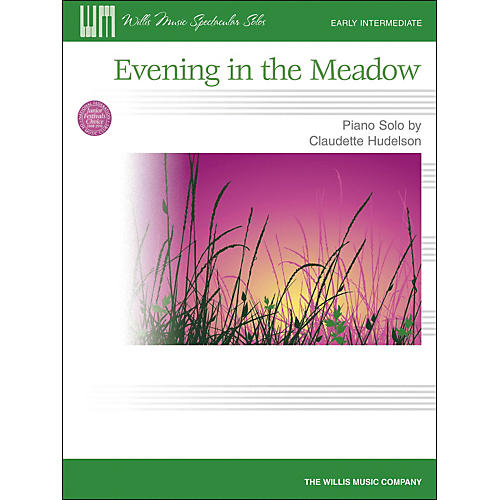 Willis Music Evening In The Meadow - Early Intermediate Piano Solo by Claudette Hudelson-thumbnail
