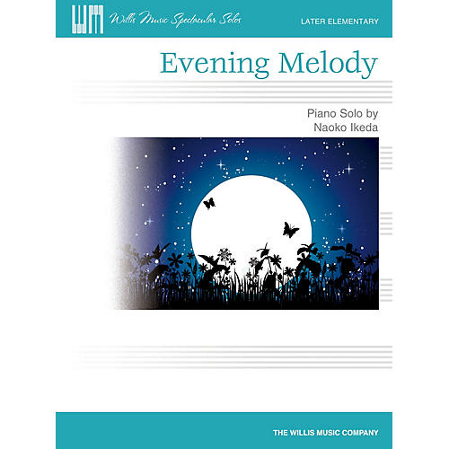 Willis Music Evening Melody (Later Elem Level) Willis Series by Naoko Ikeda-thumbnail