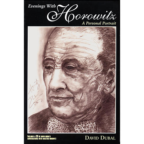 Amadeus Press Evenings with Horowitz (A Personal Portrait) Book Series Softcover with CD Written by David Dubal-thumbnail