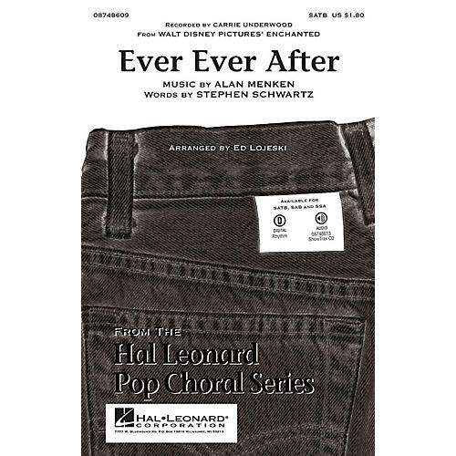 Hal Leonard Ever Ever After (From Enchanted) SSA by Carrie Underwood Arranged by Ed Lojeski-thumbnail