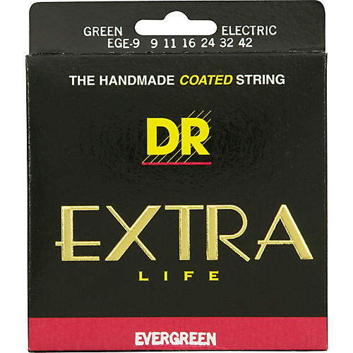 DR Strings Evergreen Coated Lite Electric Guitar Strings