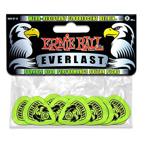 Ernie Ball Everlast Delrin Picks 12 Pack (Heavy) Heavy