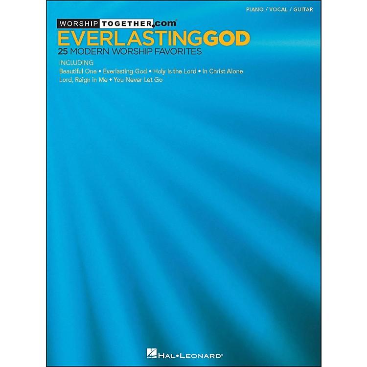 Hal LeonardEverlasting God - 25 Modern Worship Favorites arranged for piano, vocal, and guitar (P/V/G)