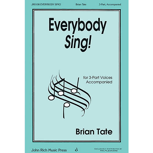 John Rich Music Press Everybody Sing! 3 Part Treble composed by Brian Tate-thumbnail