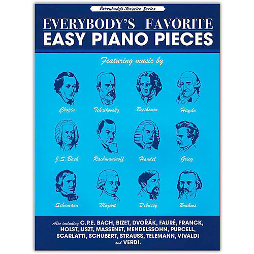 Music Sales Everybody's Favorite Easy Piano Pieces-thumbnail