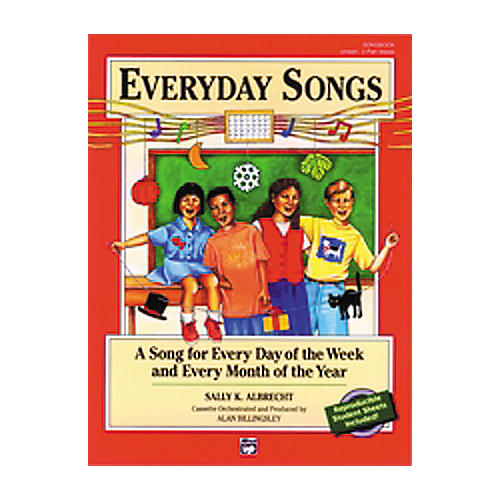 Alfred Everyday Songs Book/CD Package