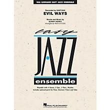 Hal Leonard Evil Ways Jazz Band Level 2 by Santana Arranged by Rick Stitzel