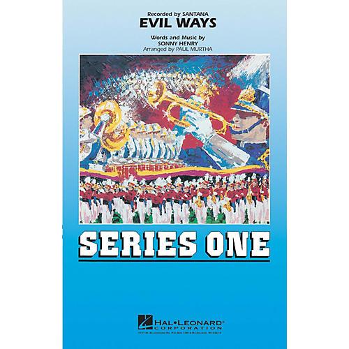 MCA Evil Ways Marching Band Level 2 by Santana Arranged by Paul Murtha-thumbnail