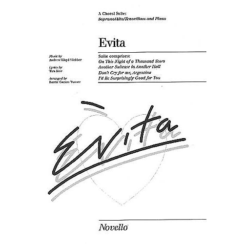 Music Sales Evita Choral Suite Music Sales America Series-thumbnail