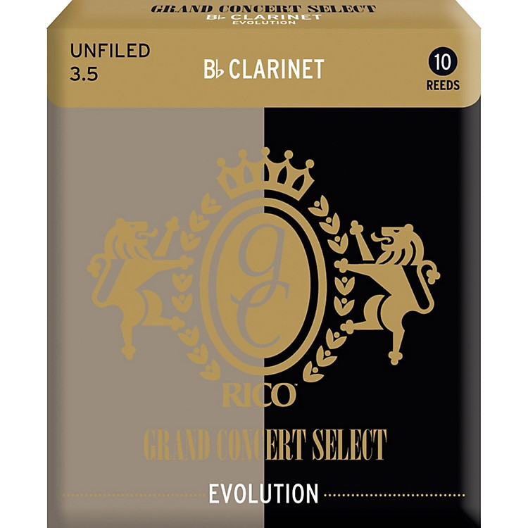 Grand Concert Select Evolution Clarinet Reeds Strength 3.5