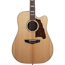 D'Angelico Excel Bowery Acoustic-Electric Guitar Level 1 Natural