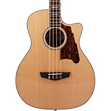 D'Angelico Excel Mott Acoustic Bass Guitar Natural