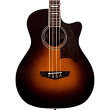 D'Angelico Excel Mott Acoustic Bass Guitar Sunburst
