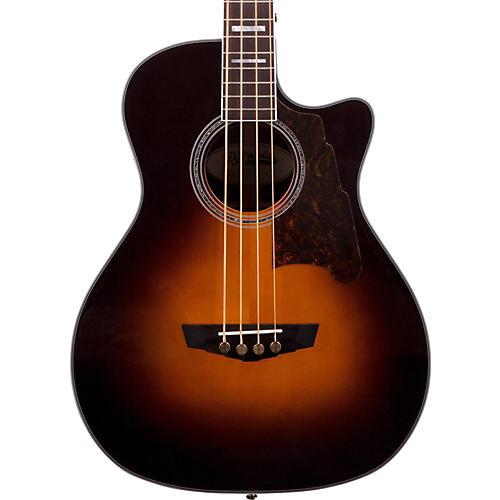 D'Angelico Excel Mott Acoustic Bass Guitar-thumbnail