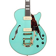 D'Angelico Excel Series Shoreline SS Bigsby Tailpiece Hollow Body Electric Guitar