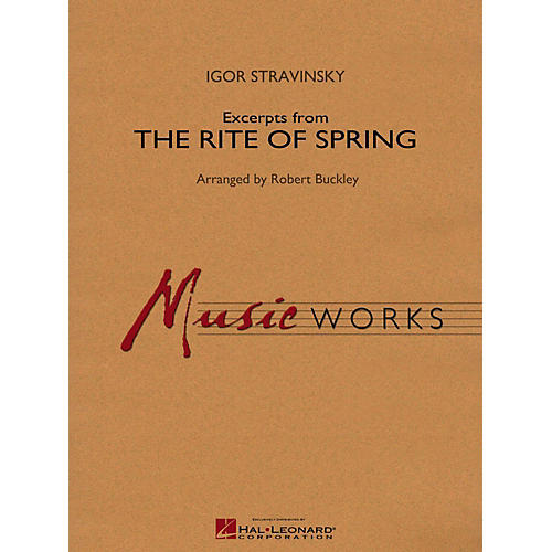 Hal Leonard Excerpts From The Rite Of Spring Concert Band Level 4-thumbnail