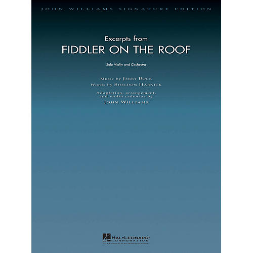 Hal Leonard Excerpts from Fiddler on the Roof John Williams Signature Edition Orchestra Series by John Williams-thumbnail
