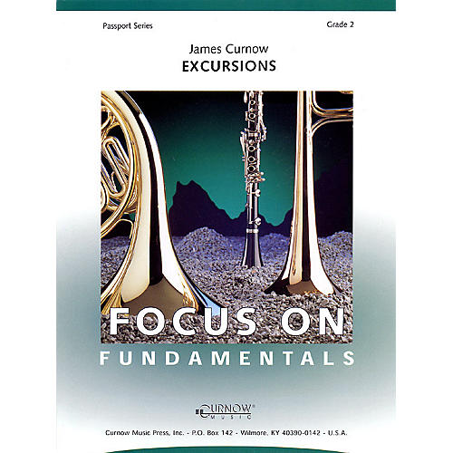 Curnow Music Excursions (Grade 2 - Score and Parts) Concert Band Level 2 Composed by James Curnow-thumbnail