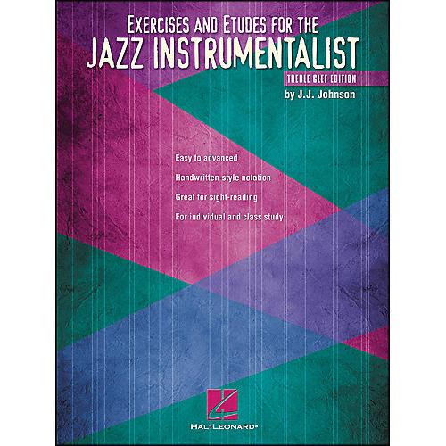 Hal Leonard Exercises And Etudes for The Jazz Instrumentalist - Treble Clef Edition-thumbnail