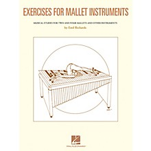 Hal Leonard Exercises for Mallet Instruments Percussion Series Softcover Written by Emil Richards