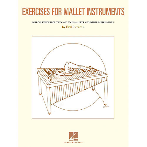 Hal Leonard Exercises for Mallet Instruments Percussion Series Softcover Written by Emil Richards-thumbnail