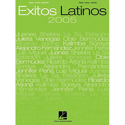 Hal Leonard Exitos Latinos 2005 Songbook-thumbnail