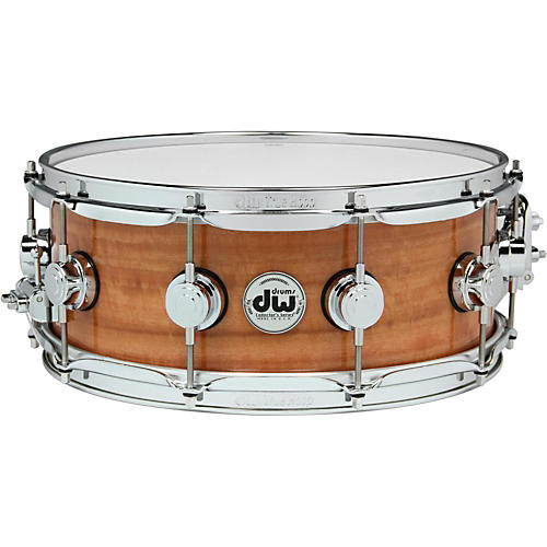 DW Exotic Fiddleback Eucalyptus Lacquer Snare-thumbnail