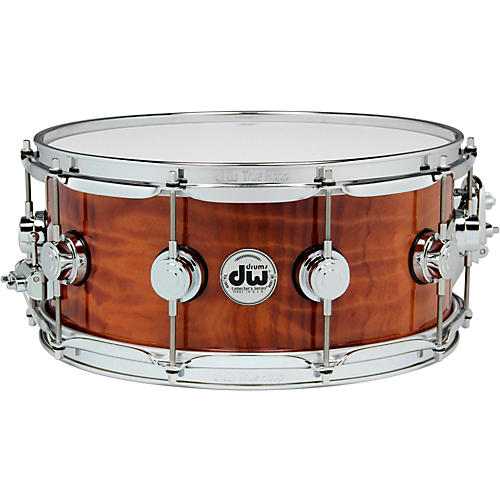 DW Exotic Redwood Stump Lacquer Snare-thumbnail