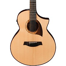 Open Box Ibanez Exotic Wood AEW2212CD-NT 12-String Acoustic-Electric Guitar