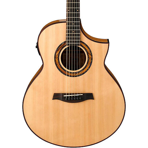 Ibanez Exotic Wood AEW23ZW-NT  Acoustic-Electric Guitar-thumbnail
