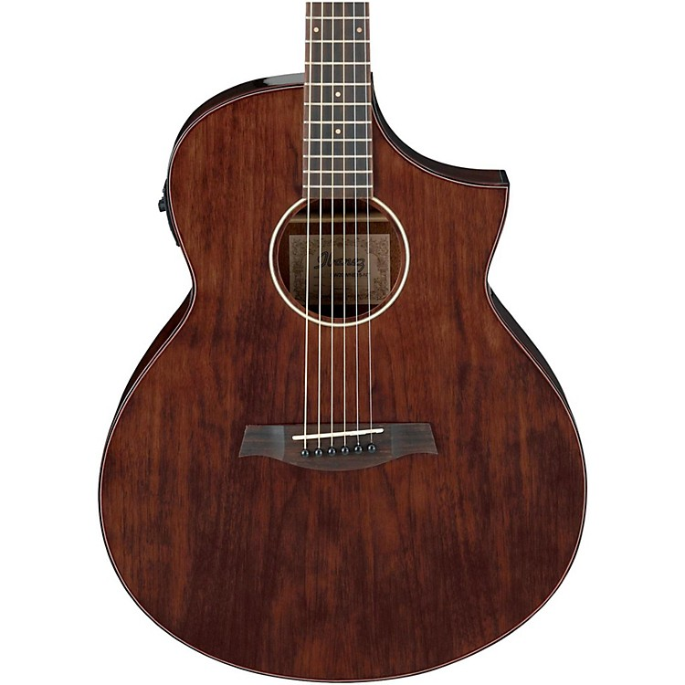 ibanez exotic wood aew40cd nt acoustic electric guitar natural musician 39 s friend. Black Bedroom Furniture Sets. Home Design Ideas