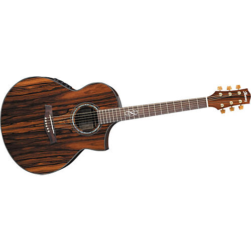 Ibanez Exotic Wood Series EW40CBE Acoustic-Electric Guitar