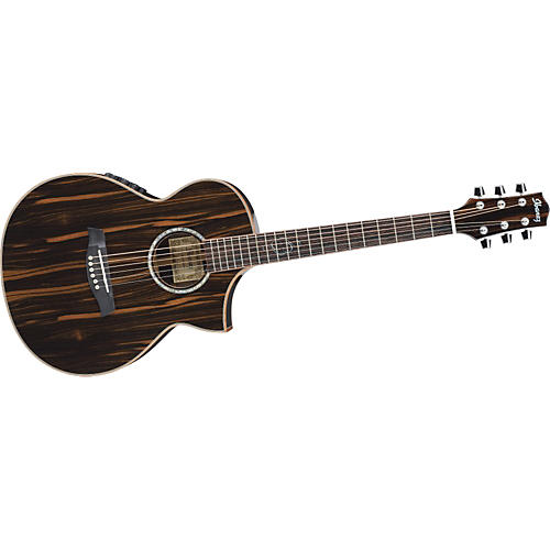 Ibanez Exotic Wood Series EWC30EBE Acoustic-Electric Guitar-thumbnail