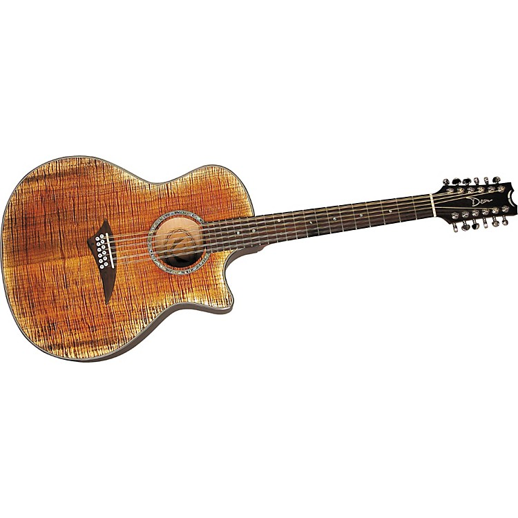 DeanExotica FM 12-String Acoustic-Electric Guitar