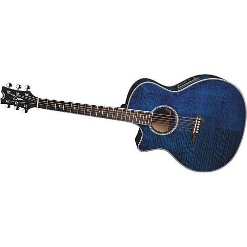 dean exotica fm acoustic electric guitar left handed musician 39 s friend. Black Bedroom Furniture Sets. Home Design Ideas