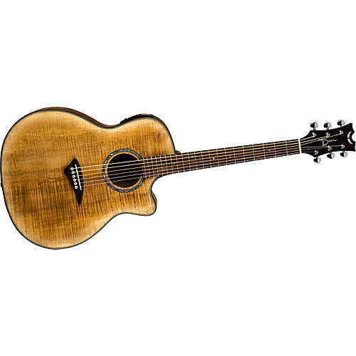 Dean Exotica Flame Maple Satin Acoustic-Electric Guitar